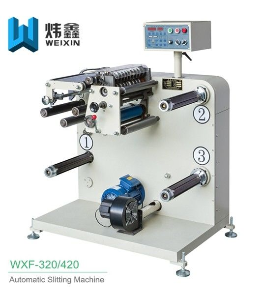 High Output Automatic Slitting Machine For Non Woven Fabric CE Certificate