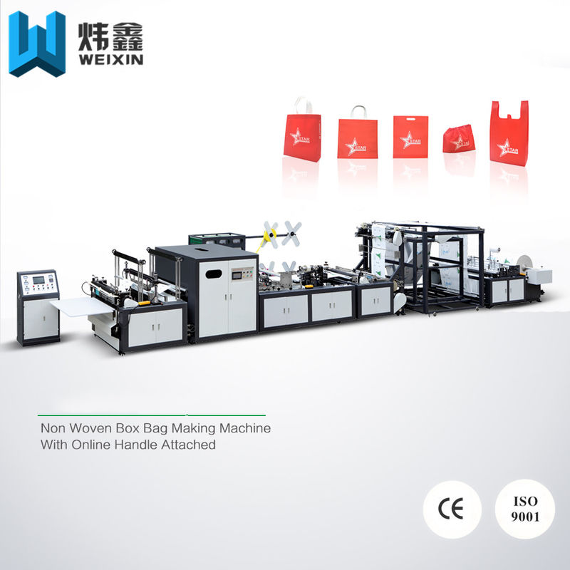 5 - in - 1 Automatic Non Woven Bag Making Machine / Auto Non Woven Fabric Machinery