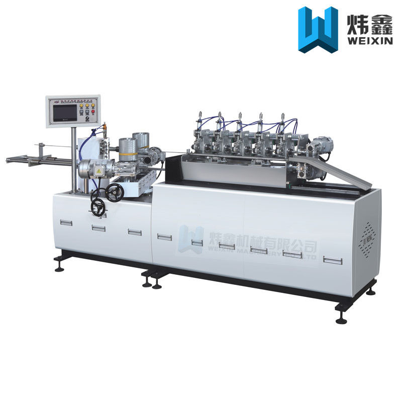 Three Phase Paper Pipe Making Machine For Disposable Drinking Paper Straw